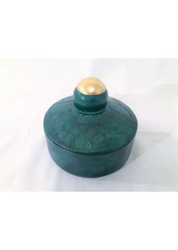 Boite Cuir & Bronze TAGUELLA