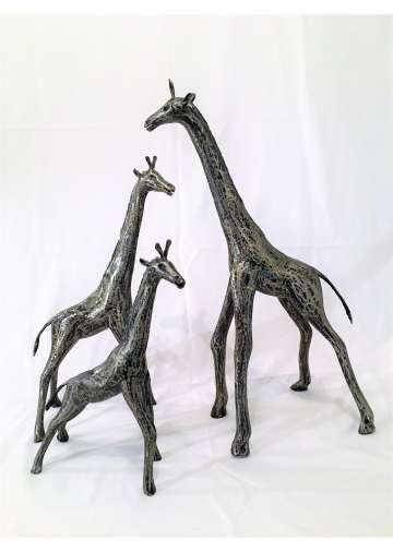 Girafe Metal Brosse