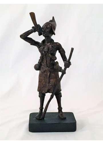 Statuette Bronze LE GUERRIER AKBA