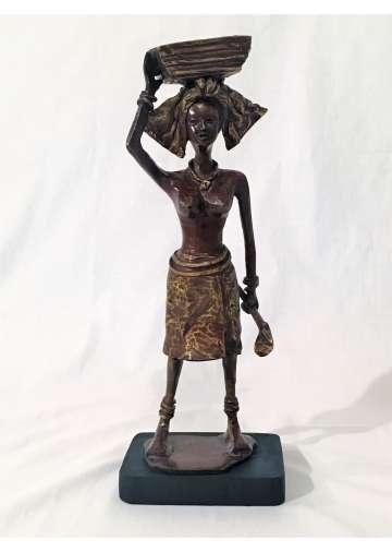 Statuette Bronze KERMA