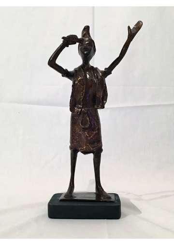 Statuette Bronze LE DJELI