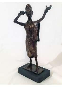 Statuette Bronze LE GRIOT