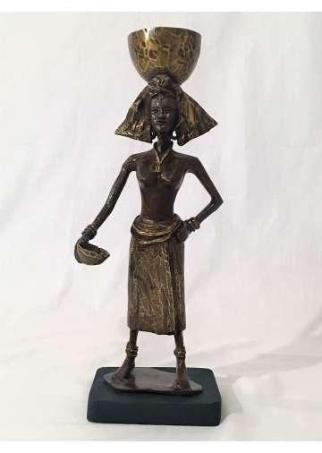 Statuette Bronze ANIBA