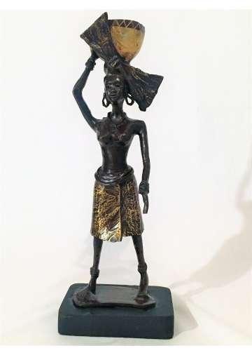 Statuette Bronze UBUNTU