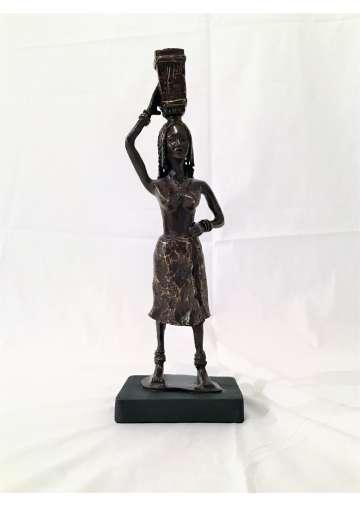Statuette Bronze WARDI