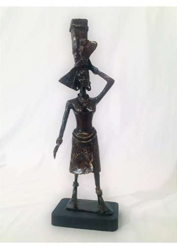 Statuette Bronze SEMMEHNA