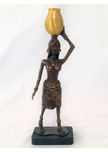 Statuette Bronze KASHTA