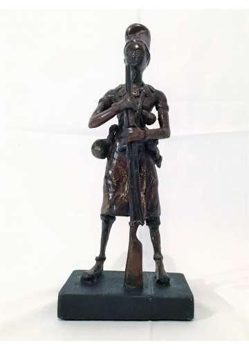 Statuette Bronze LE GUERRIER KOUSH