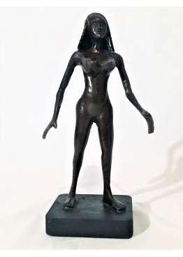 Statuette Bronze FEMME NUE