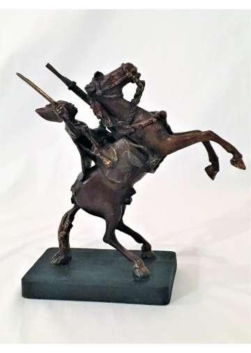 Statuette Bronze LE ROI AFRICAIN